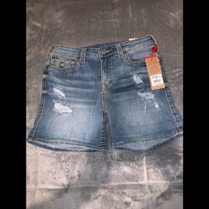 True religion shorts // brand new with tags